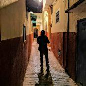 Rabat Medina - at night