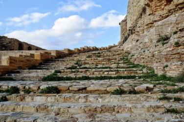 Stairs at Karak Castle