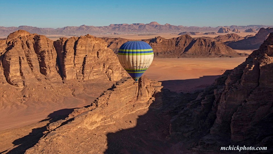 Hot Air Balloon Flight Wadi Rum