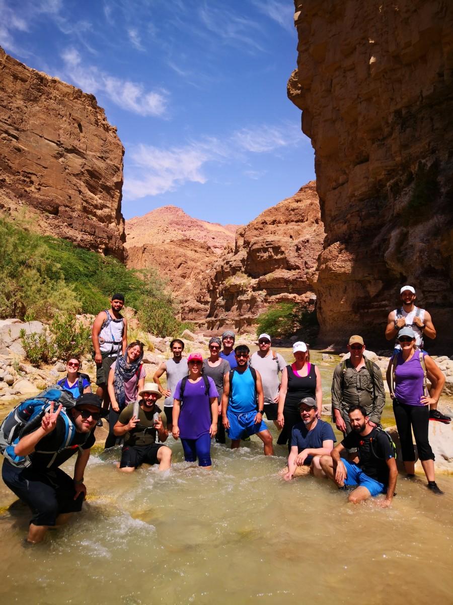 Group Hike at Wadi Al-Hasa June 2020