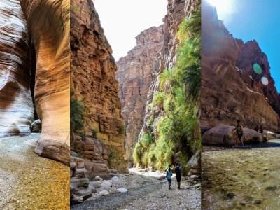 Hiking Jordan Dead Sea Wadis