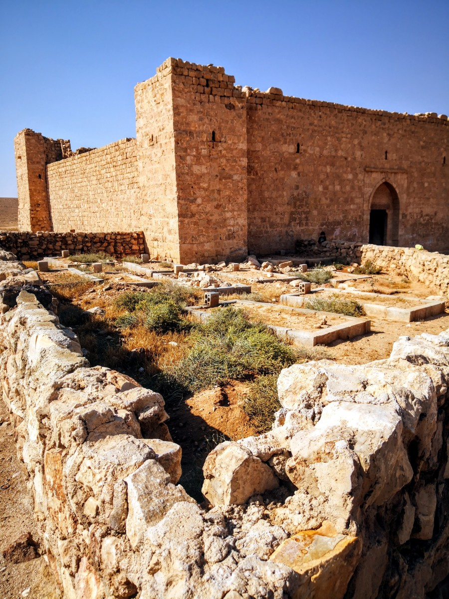 Qasr Al-Dab'ah - Cemetery