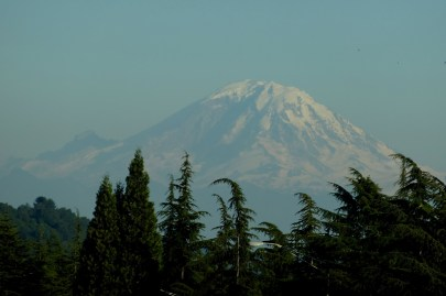 Mt. Rainier as seen from I-5