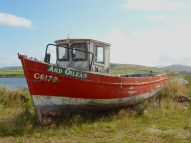 boat in Cleggan