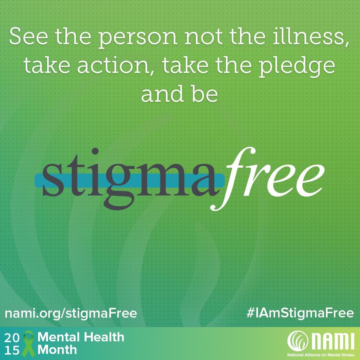 Be Stigma Free