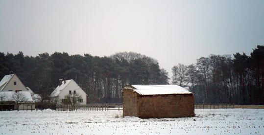 Draussen vor derStadt ist noch tiefer Winter