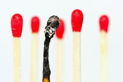 berarbeitung, Burnout