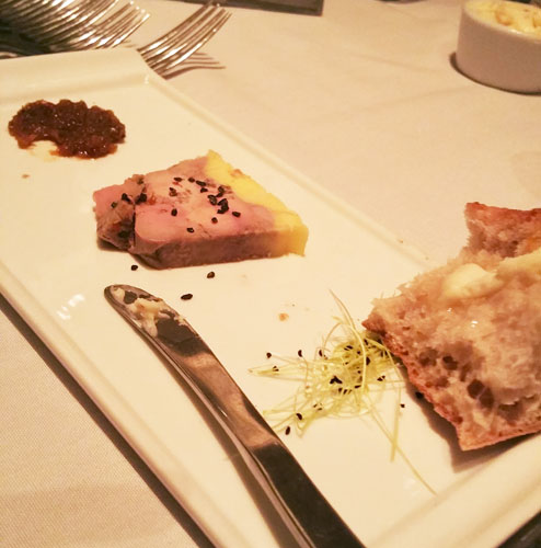 Foie Gras tarrine - Pikayo Restaurant