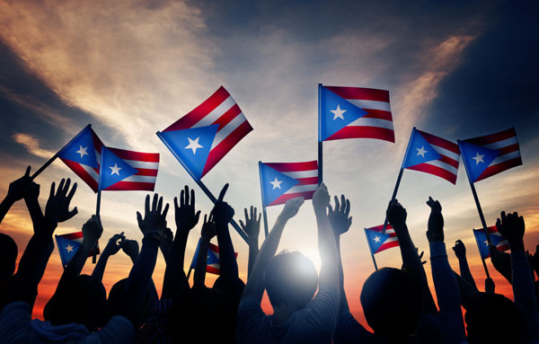 Who does not have to pay property taxes in Puerto Rico?