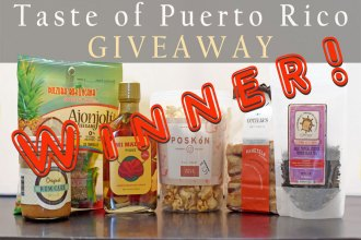 We have a winner! Taste of Puerto Rico Giveaway