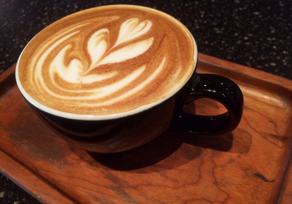 Latte Art at Kaldis Coffee in Kansas City
