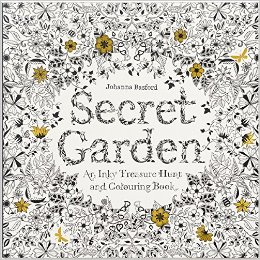 Secret Garden Adult Coloring Book and Story