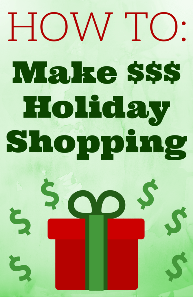 How to Make Money Holiday Shopping | Christmas Shopping | Earn Money | Frugal Living | Online Shopping