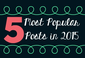 5 Most Popular Posts of 2015
