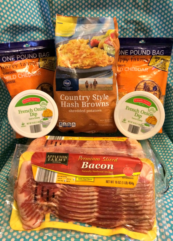 bacon lattice hashbrown casserole ingredients