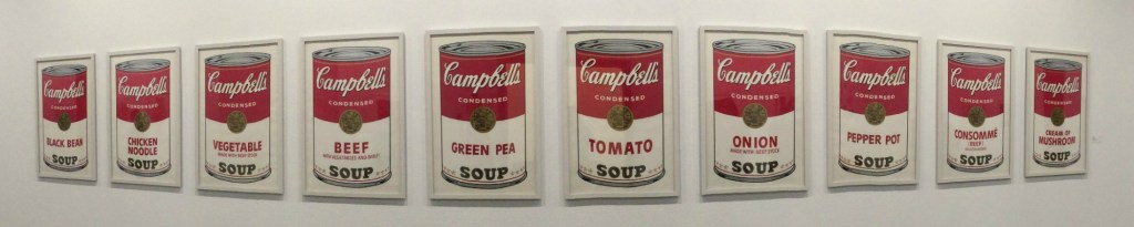 Andy Warhol Soup Paintings in Springfield, Missouri