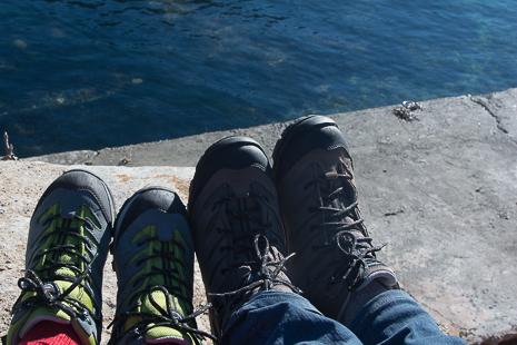 Walkers in Mallorca