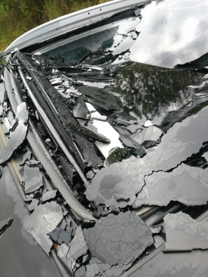 That was the sunroof that was