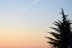 Sunset Sky in Vergne