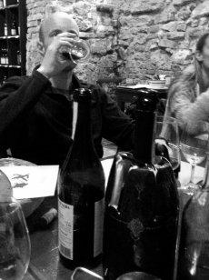 Drinking Barbera at Vineria San Giorgio in La Morra