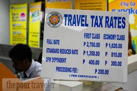 Philippine Travel Tax