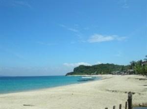 white beach Philippines