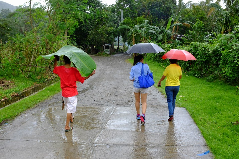 rainy season in Philippines