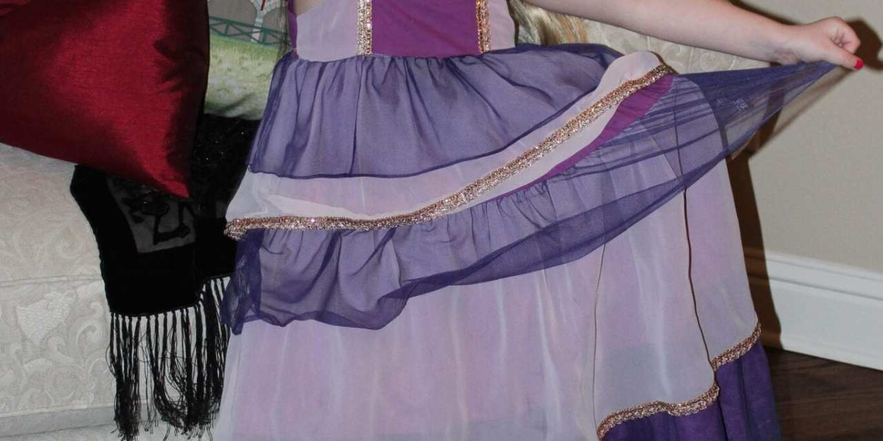 Dyeing the Birthday Dress