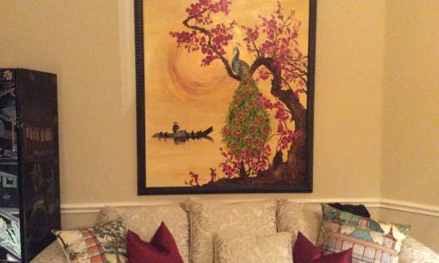 The New Painting is Hung!