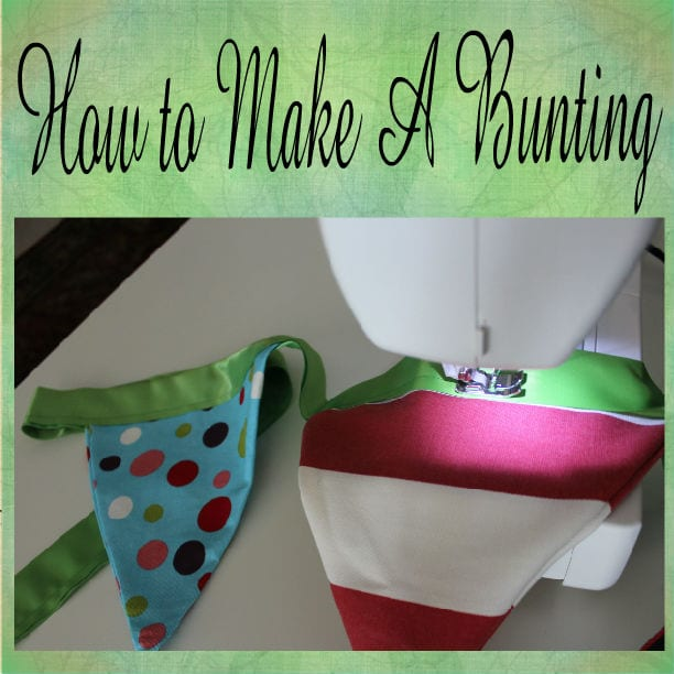 How to Make an Easy and Adorable Bunting