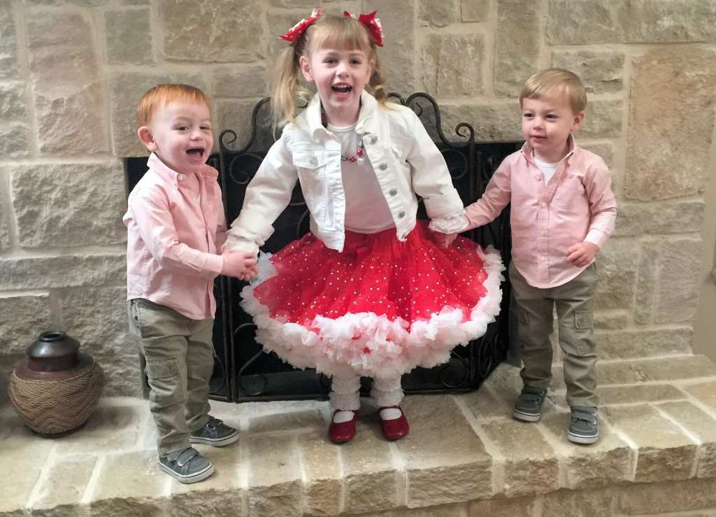 Headed to Preschool to celebrate Valentine's Day!