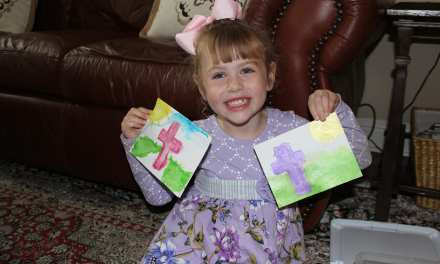 Watercolor Easter Cards that Kids Can Make