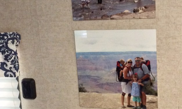 Hanging Quality Photos in an RV, Dorm, or Anyplace You Can't Nail