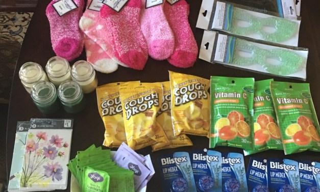 Joy Bags- Get Well Bags for Ladies in My Community