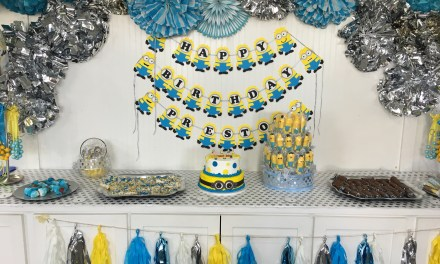 DIY Minions Themed Party