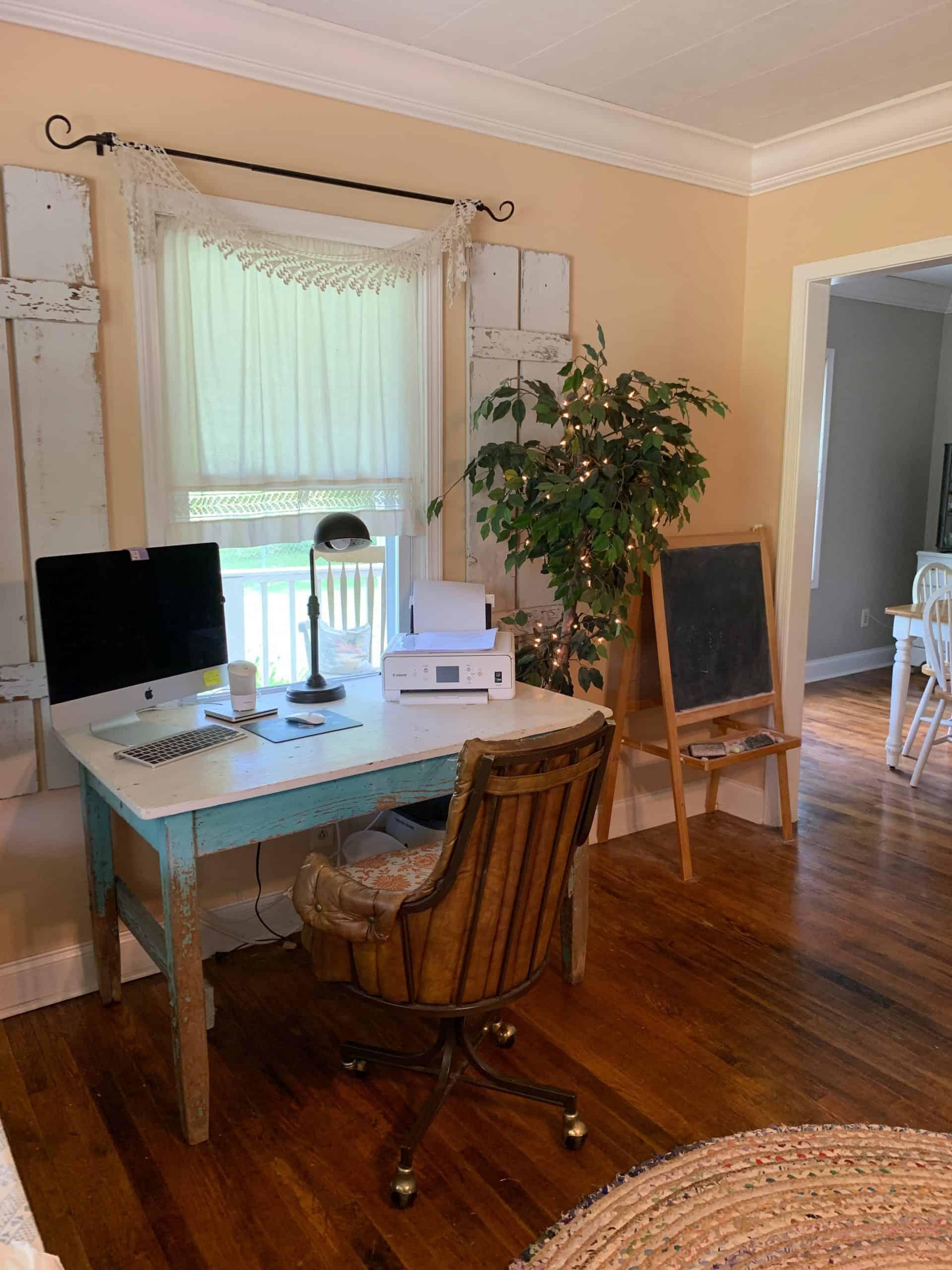 Chelsea's desk