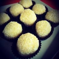 Trufas de coco y limón