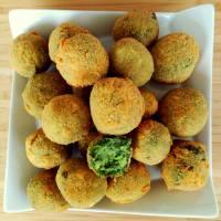 Bocaditos de brócoli y espinacas