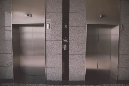 build muscle in an elevator