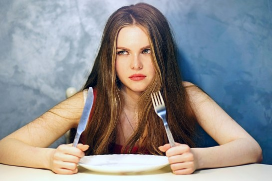 intermittent fasting girl
