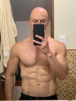 bodyweight training results, transformation