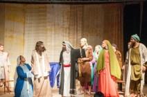 Jesus being expelled