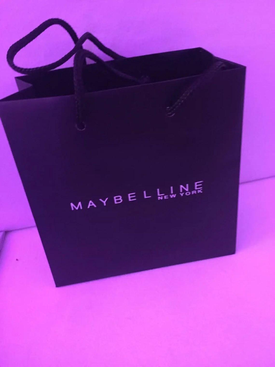 maybelline nyfw