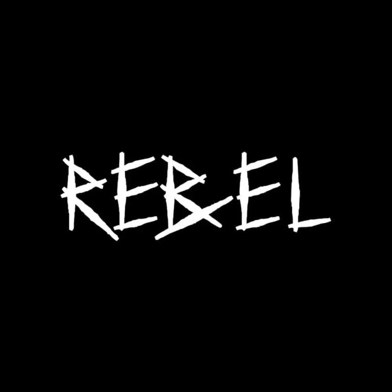 LIVING LIFE FEARLESS + Axcess Rebel Logo