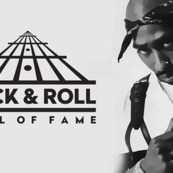 Tupac Rock and Roll Hall of Fame