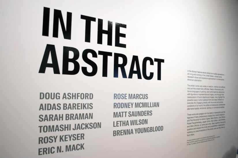 """""""In the Abstract""""   Massachusetts Museum of Contemporary Art   LIVING LIFE FEARLESS"""
