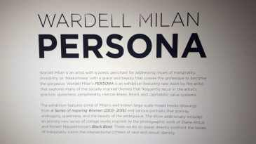"""Wardell Milan """"Persona""""   Project For Empty Space   LIVING LIFE FEARLESS"""