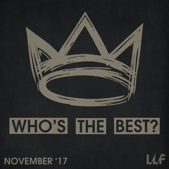 Who's the best of the month: November 2017