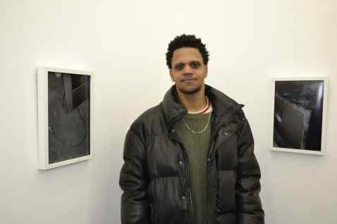 "American Artist | ""Black Gooey Universe"" 