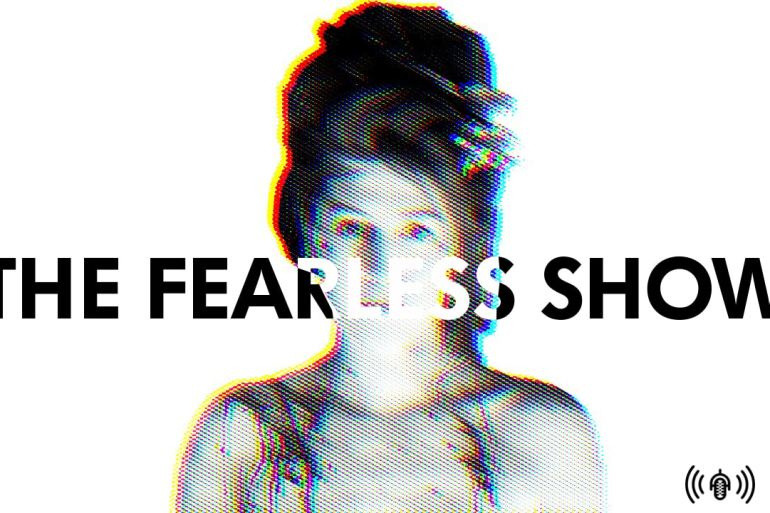 Kayce Tynan's psychedelic fantasy art, AR art experiences, and H&M is the WORST | Podcasts | The Fearless Show | LIVING LIFE FEARLESS
